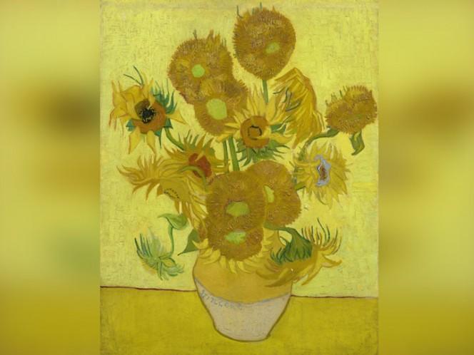 Inician restauración de pintura Los Girasoles, de Van Gogh
