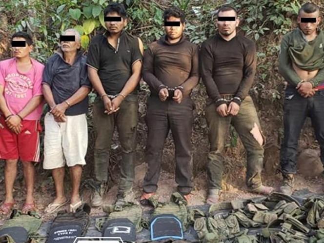 Repelen agresión y capturan en Guerrero a grupo armado