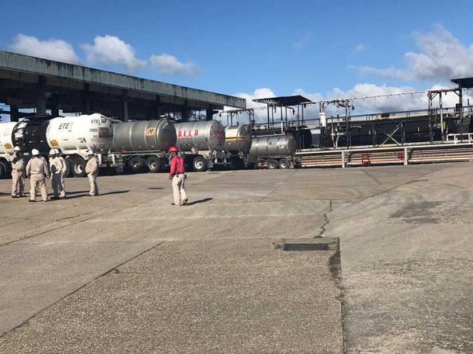 Con 5 mil pipas Pemex cubre desabasto de gasolina en el país: Nahle