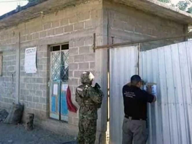 Catean en Oaxaca casas usadas para almacenar huachicol
