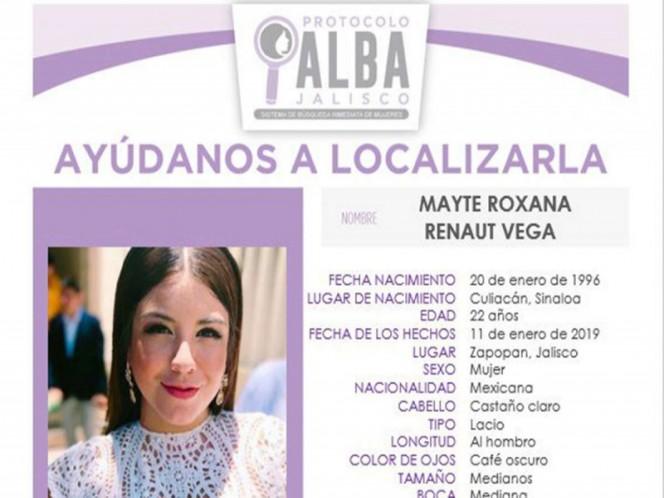 Desaparece hija de exsecretario de Seguridad de Culiacán en Jalisco