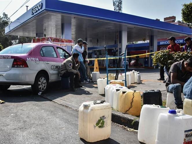 Preocupa a SSP violencia en gasolineras por desabasto