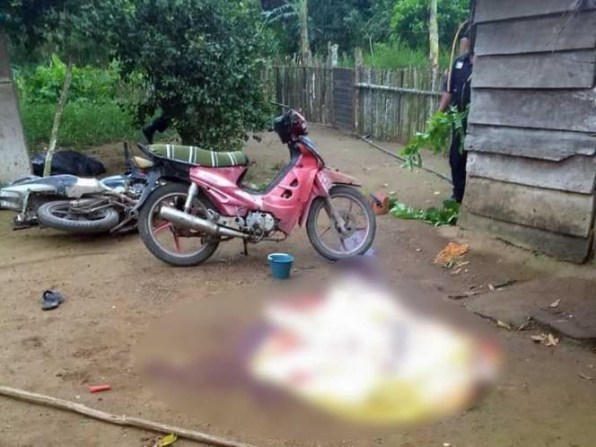Una bebé, entre familia acribillada en Tabasco