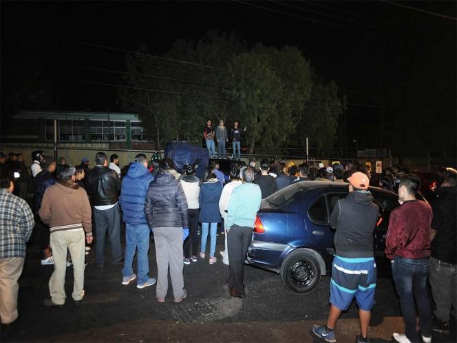 Hartos de la delincuencia vecinos de Corpus Christi bloquean vialidad