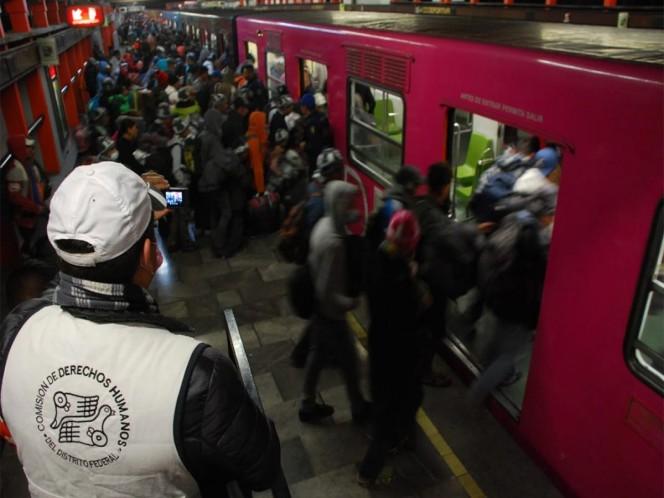 Abandonan la CDMX mil 100 migrantes durante la madrugada