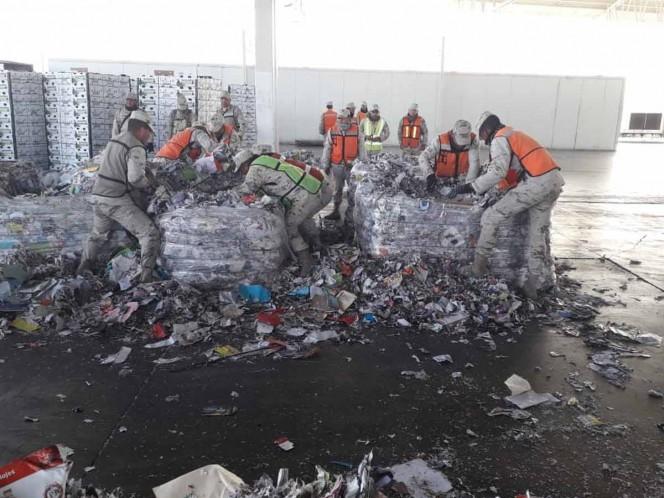 Soldados decomisan media tonelada de droga en Sonora