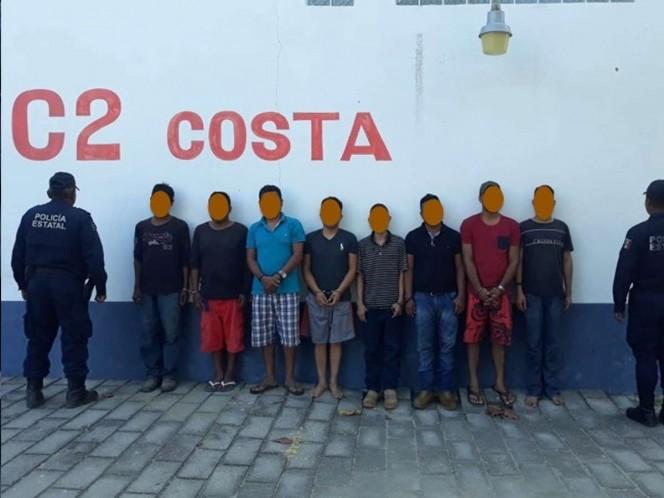 Caen supuestos miembros de célula delictiva en Oaxaca