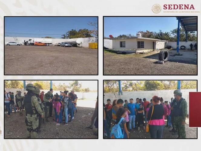 Desde casa, 34 migrantes pidieron a Sedena ser rescatados