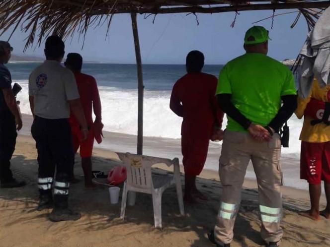 Reportan dos muertos en playas de Oaxaca durante Semana Santa