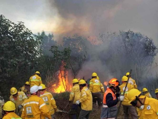 'Reducción al presupuesto para combatir incendios no ha afectado'