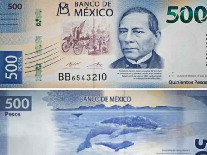 ¡Viva México! Billete de 500 entre los más bonitos del mundo