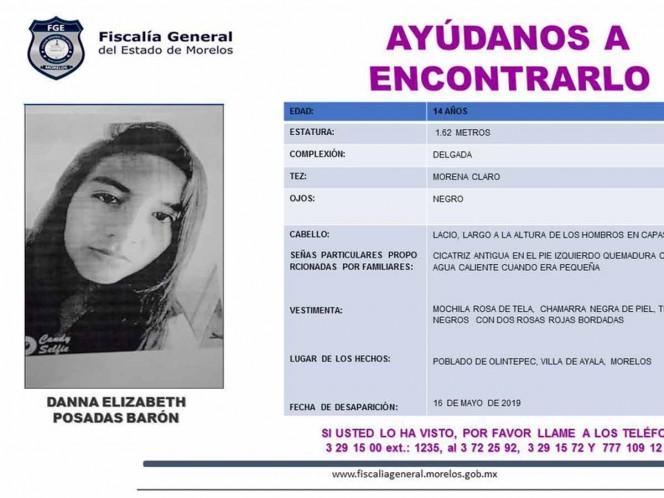 Desaparecen dos jovencitas de 14 años en Morelos