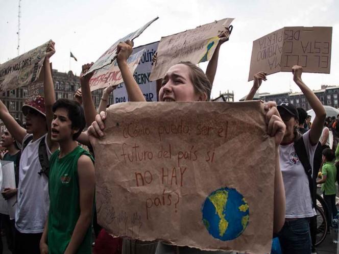 Ambientalistas exigen acciones contra el cambio climático