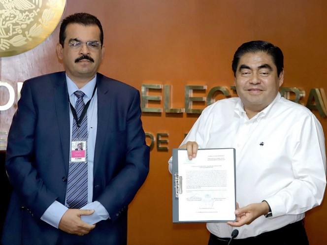 Ya es oficial: Barbosa, nuevo gobernador de Puebla