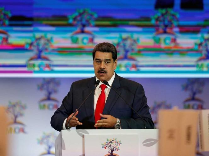 Maduro denuncia las 'sanciones ilegales' de Estados Unidos