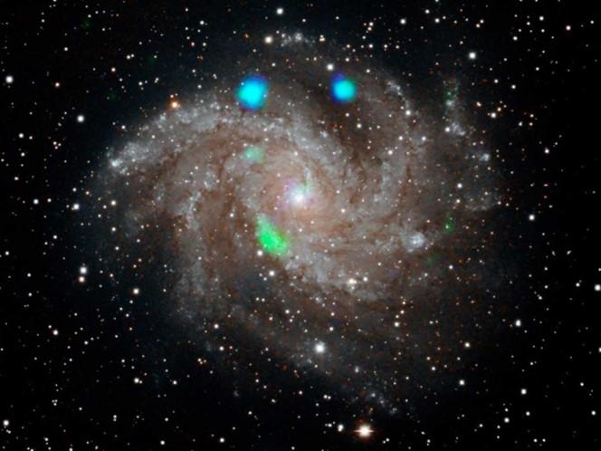 NASA descubre misteriosas luces en la galaxia Fireworks