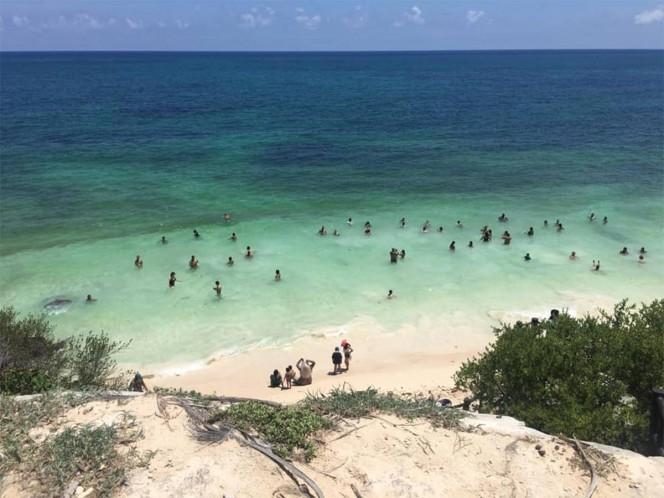 Estas playas de Quintana Roo están libres de sargazo