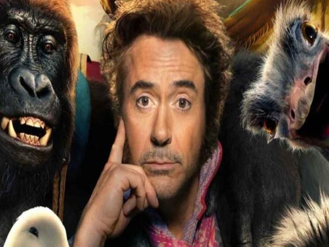 Robert Downey Jr. deja a Iron Man para ser 'Dr. Dolittle'