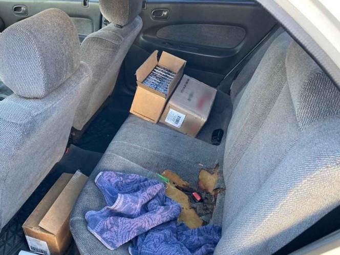 Cae estadunidense en Nogales con casi 4 mil cartuchos útiles