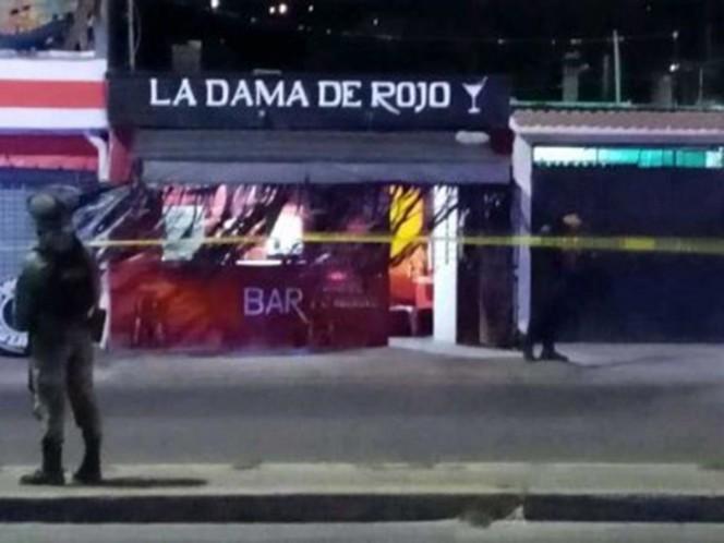 Comando ejecuta a cuatro personas en bar de Oaxaca