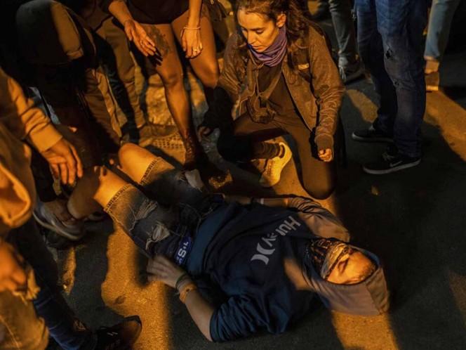 Nueva jornada violenta en Cataluña deja 125 heridos
