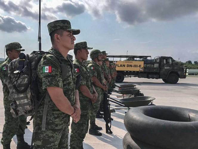 Activan Plan DN-III-E en Colima por llegada de 'Priscila'