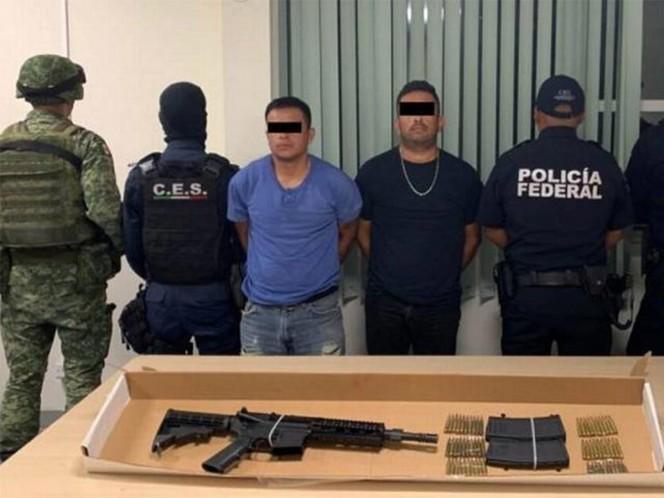 Detienen a 'El Rojo' y 'El Iram', sicarios de 'Gente Nueva' en Chihuahua