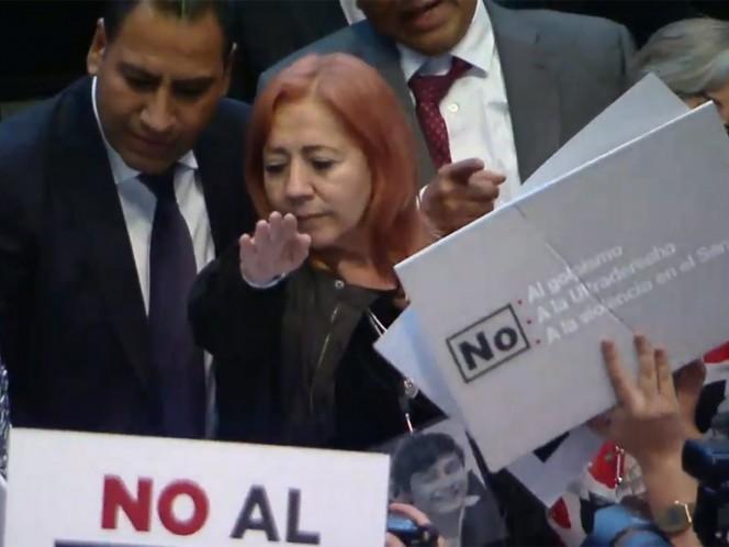 Rosario Piedra rinde protesta como titular de la CNDH