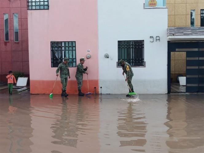 Por fuertes lluvias aplican Plan DNIII-E en San Luis Potosí - Excélsior