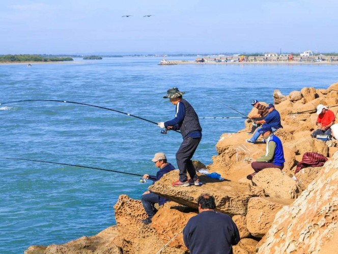 Bate récord de asistencia torneo de pesca en Tamaulipas