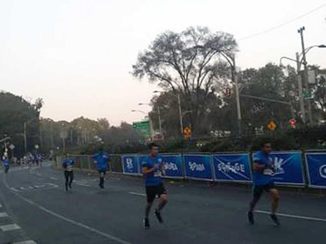 Cierran vialidades en CDMX por actividades deportivas
