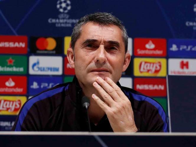 Valverde confirma la baja de Messi ante el Inter