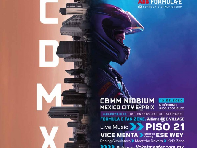 Quedan pocos boletos para vivir la magia de la Fórmula E en México