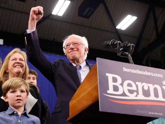 Sanders y Buttigieg toman delantera en primarias demócratas