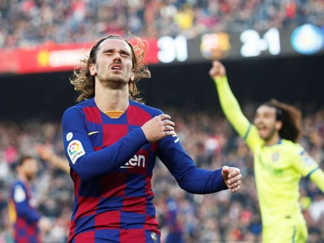 Barcelona vuelve a pasarla mal en LaLiga