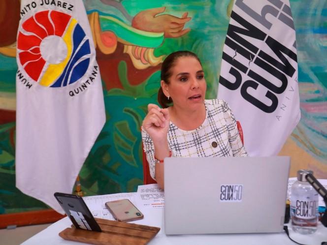 Mara Lezama llama a la ciudadanía a donar cubrebocas, gel, guantes…