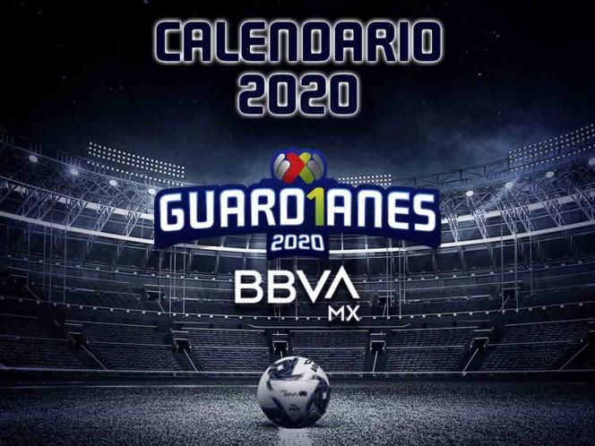 Revelan calendario del Torneo Guard1anes 2020