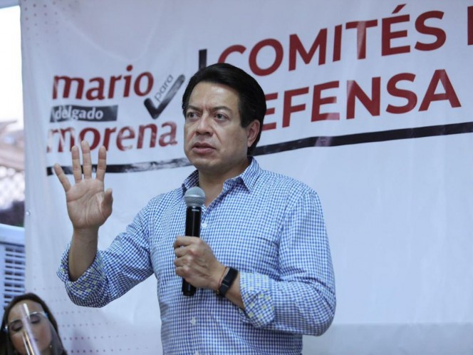 Mario Delgado a favor de hacer público padrón de Morena