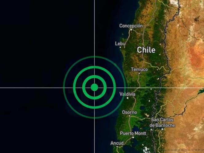 Sismo de magnitud 6.7 sacude el sur de Chile
