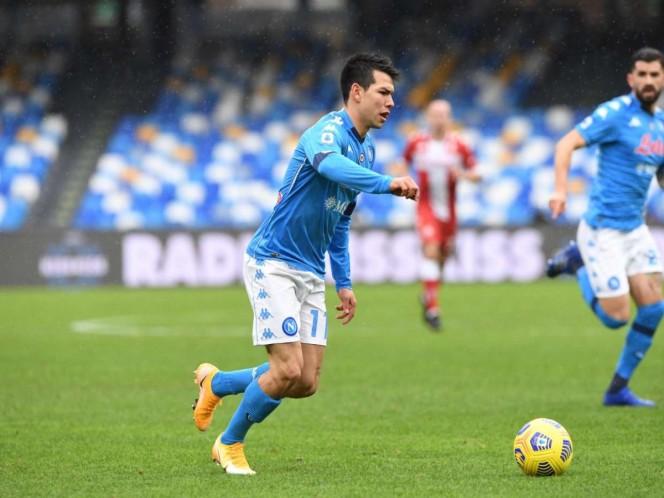 'Chucky' Lozano sigue en plan goleador con el Nápoles