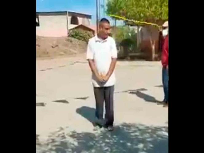 Castigan con golpes a personas que salen a la calle sin cubrebocas