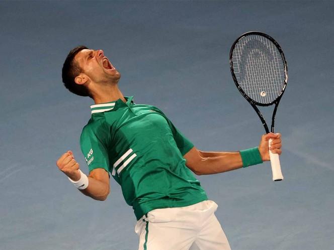 Djokovic y Thiem pasan con mucho sufrimiento