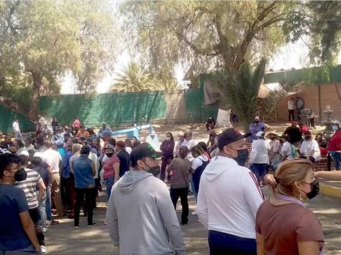 Fuimos a pedir agua y sólo recibimos mentadas: vecino de Ecatepec