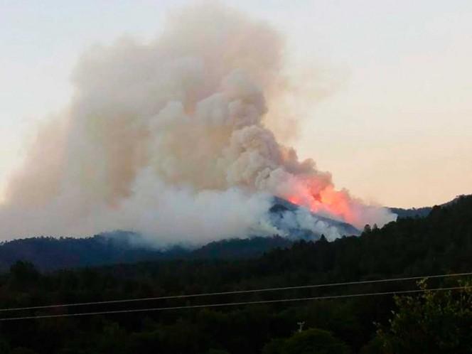 Hacen arder a México 104 incendios forestales