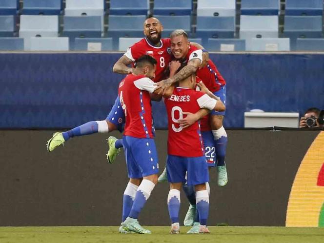 Chile logra su primera victoria en la Copa América