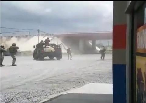 VÍDEO: Ejercito Mexicano se enfrenta a sicarios del Cártel del Golfo 1737804