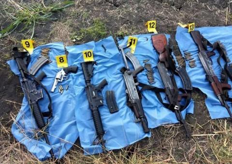 Aseguran armas y vehículos en campo de adiestramiento clandestino del narco 1814138