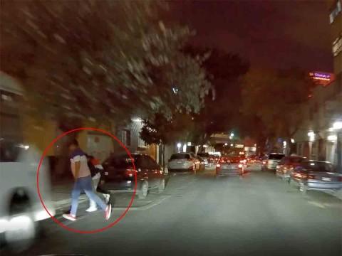 Así evitó este conductor ser asaltado en Ciudad de México