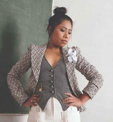 Yalitza Aparicio se convierte en columnista del New York Times