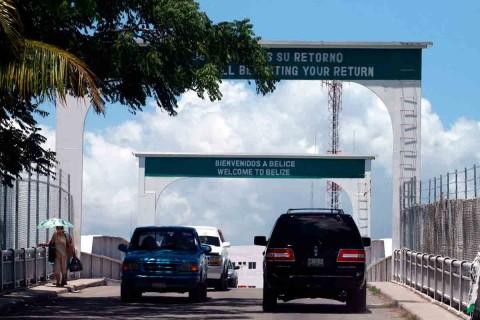 Cancelan reapertura de frontera México-Belice por aumento de Covid-19